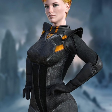 X-Fashion Sci Bodysuit 4 for Genesis 8 Female(s)