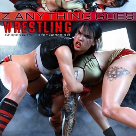 Z Anything Goes Wrestling Shapes and Poses for Genesis 8