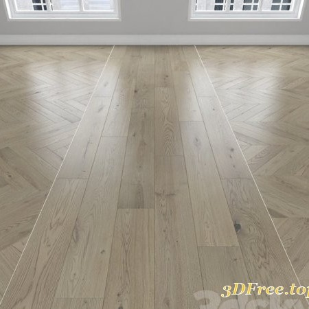 Parquet Oak, 3 types: herringbone, linear, chevron