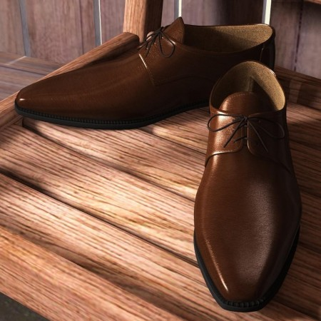 Long Nose Shoes for Genesis 2 Male(s)