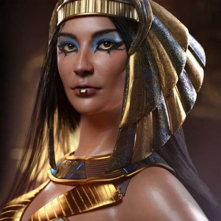 Egyptian Pharaoh Makeup