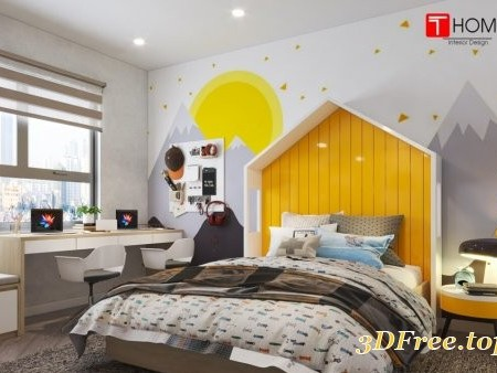 Interior Children Room By Hoang Thoa