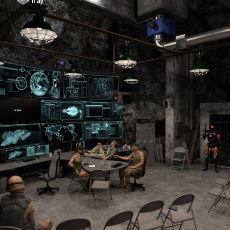 Deep Underground Command Center
