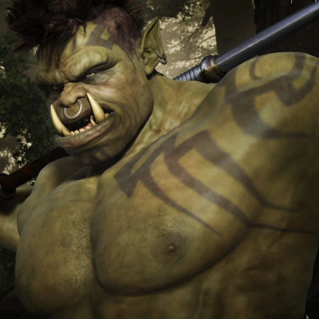 Ogora the Orc HD