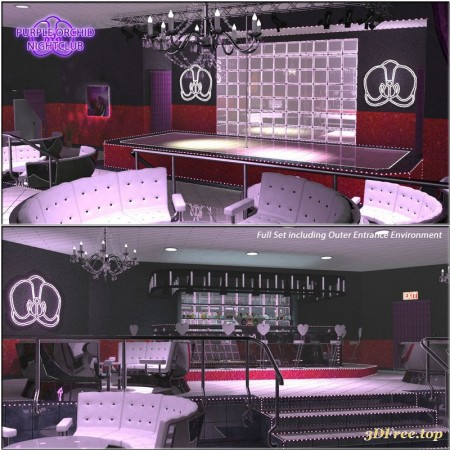 Purple Orchid Nightclub