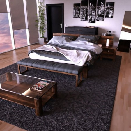 X3D High-Rise Bedroom