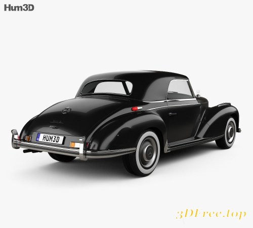 Mercedes-Benz 300 (W188) S Coupe 1951 3D model
