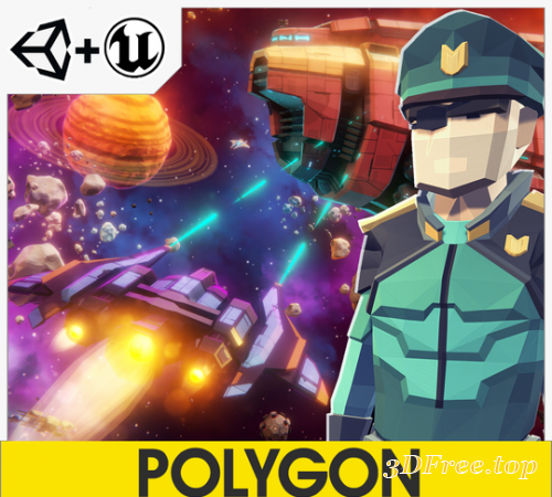 POLYGON - Sci-Fi Space Pack V1.07
