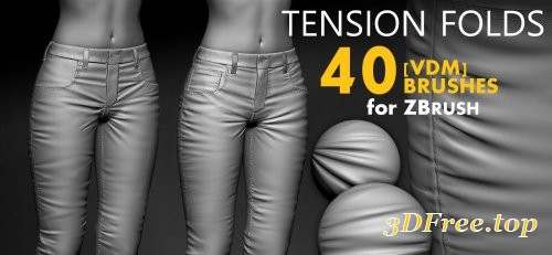 ArtStation Marketplace – Leather & Fabric Tension Folds