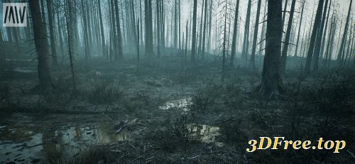 Burned Dead Forest Biome
