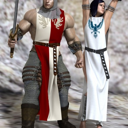 Medieval Fantasy - Dynamic Clothes for Genesis and Genesis 2