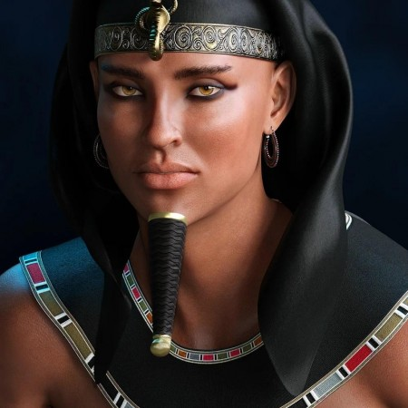 Mst Akhenaten HD for Genesis 8 Male