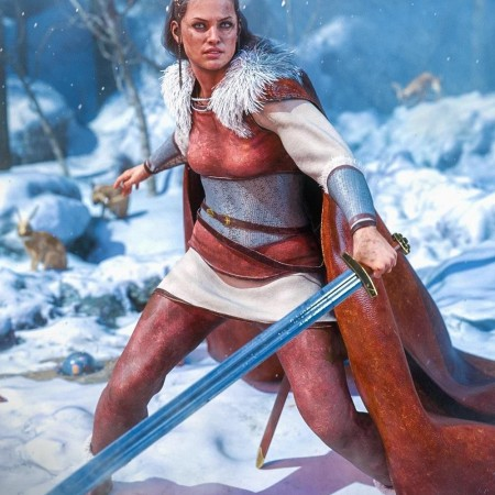 dForce Sigurd Outfit for Genesis 8 Females