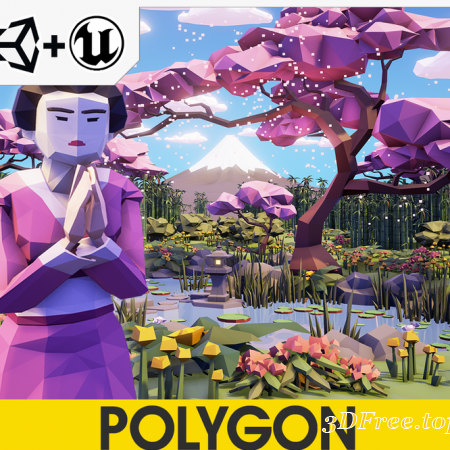 POLYGON - Samurai Pack
