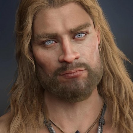 Sten HD for Genesis 8 Male