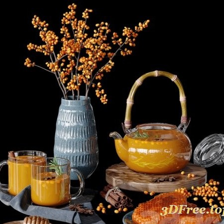 Honeycomb decorative set