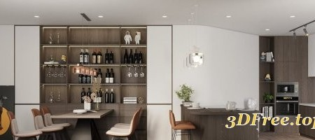 Kitchen – Dining Room 25 By Bui Hai Lich