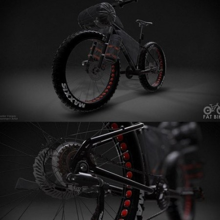 The FAT Bike 3D Model