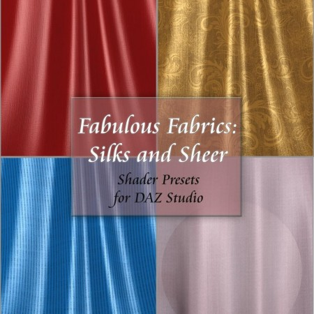 Fabulous Fabrics: Silks and Sheer - Shader Presets for DAZ Studio