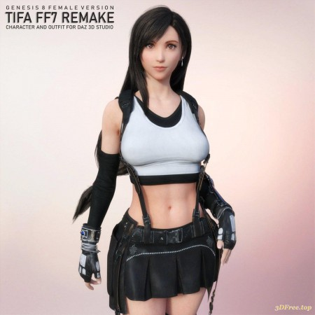 Tifa For Genesis 8 Female