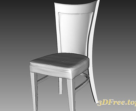 Cuberbrush - Wooden Chair - 3D Scan