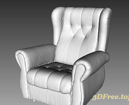Cuberbrush - Armchair - 3D Scan