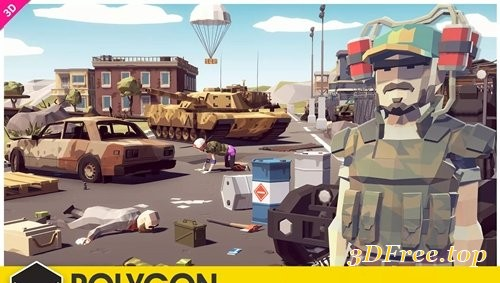 POLYGON - Battle Royale Pack 1.04