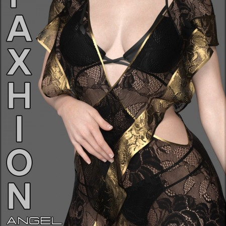 Faxhion - Angel Gown