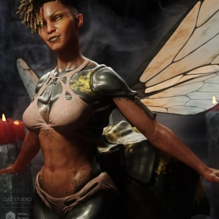Wasp Queen for Genesis 8 Female