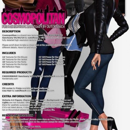 Cosmopolitan for FASHIONWAVE Sanctuary