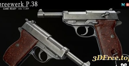 P38 Pistol [REAL-TIME]