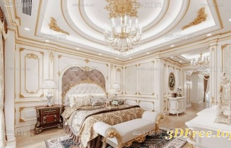 Neoclassical Bedroom By Le Tai Linh