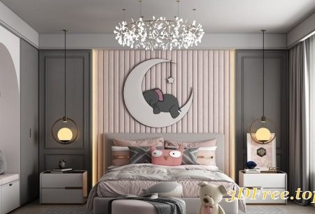Interior Children Room By HuyHieuLee
