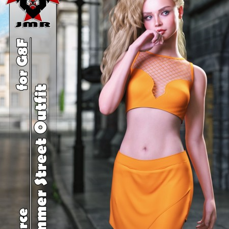JMR dForce Summer Street Outfit for G8F