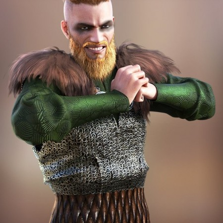 Viking Animations for Genesis 8