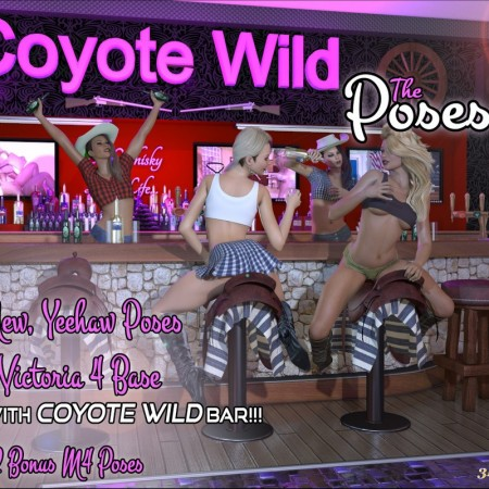 Z Coyote Wild The Poses