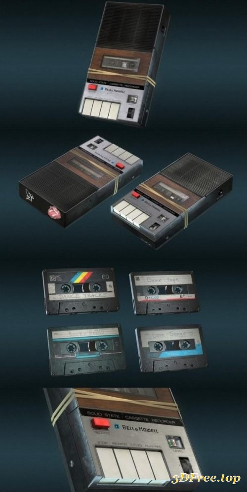 Cassette Recorder and Tapes
