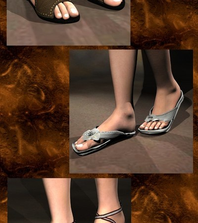 Six Sickle Sandals 2 V4A4