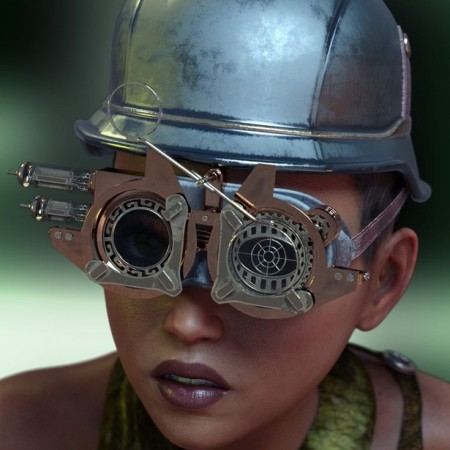 Steam Punk Hats for Genesis 8