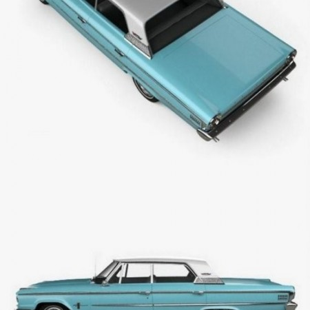 Ford Galaxie 500 hardtop 1963