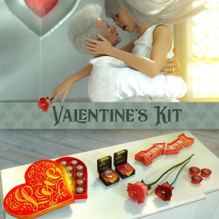 Valentine's Kit for Genesis 3 & 8
