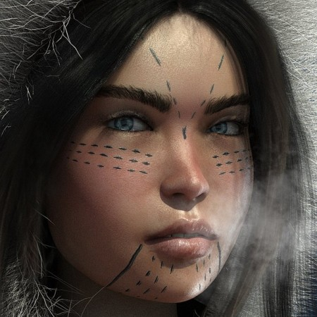 HP Uki for Genesis 8 Female