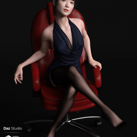 Xu Character And Hair for Genesis 8 Female