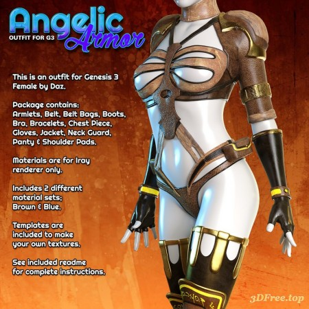 Exnem Angelic Armor for G3 Female
