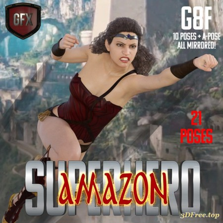 SuperHero Amazon for G8F Volume 1