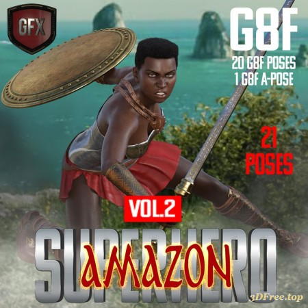 SuperHero Amazon for G8F Volume 2