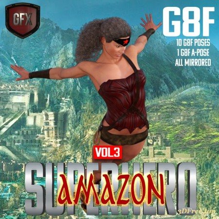 SuperHero Amazon for G8F Volume 3