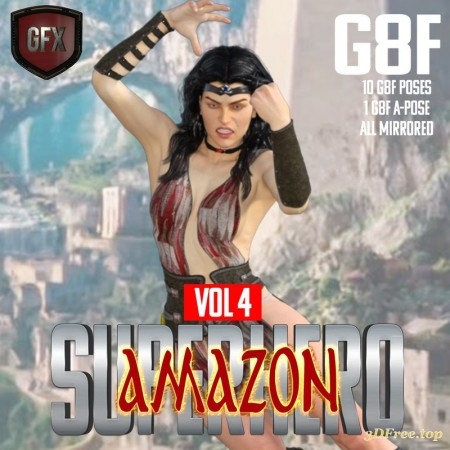 SuperHero Amazon for G8F Volume 4
