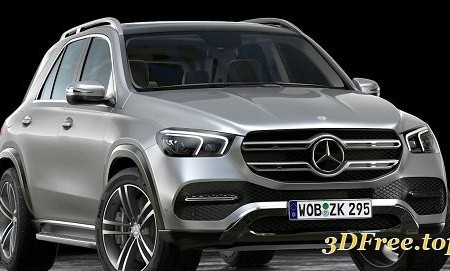 Mercedes Benz GLE 2020 3D Model