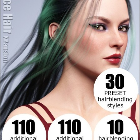 OOT Hairblending 2.0 Texture XPansion for Alice Wet and Dry Hair